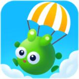 青蛙跳伞游戏